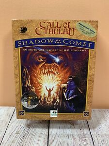 Call of Cthulhu Shadow of the Comet RARE Lovecraft PC/CD ROM Game 1994 Interplay