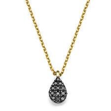 Diamond Pendant Gold Chain