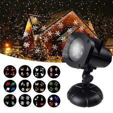 Christmas Laser Projector Star LED Shower WaterProof OutdoorIndoor Motion show