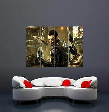 DEUS EX HUMAN XBOX ONE PS4 PS3 GAME PC NEW GIANT WALL ART PRINT POSTER OZ1049