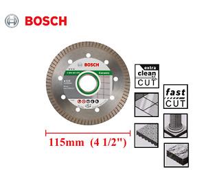 "Bosch Best For Ceramic Clean Cut Turbo Diamond Tile Cutting Disc 115mm (4 1/2"")"