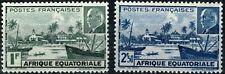 AFRIQUE EQUATORIALE YT n° 90 & 91 neufs (★) /MNG 1940