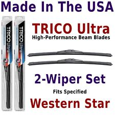 Buy American: TRICO Ultra 2-Wiper Blade Set fits listed Western Star: 13-18-18