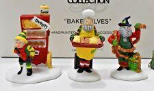 Dept 56 Baker Elves set Heritage Village Collection 56030 Department