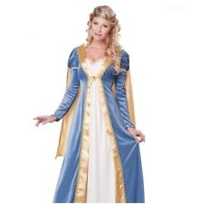 Elegant Empress Medieval Maid Marion Womens Renaissance Outfit Costume