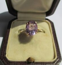 Très belle bague - Améthyste neuve 1,5 carats - Gold ring or 18 carats 750