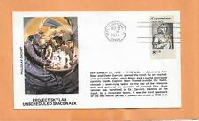 PROJECT SKYLAB UNSCHEDULED SPACE WALK SEP 22,1973 CAPE CANAVERAL PHILGRAF CACHET