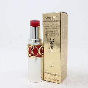 Yves Saint Laurent Volupte Plump-In-Colour Lip Balm  0.12oz/3.5 New With Box