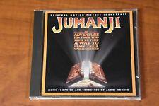Jumanji [Original Movie Soundtrack] by James Horner (CD, 1995, Epic EK 67424)