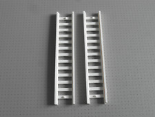 Lego - 2 x White Ladder - 14x2.5 Studs (4207)