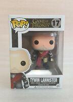 Funko Pop Vinyl - Game Of Thrones Tywin Lannister #17 GOT Gold Armor + Pop Case