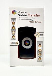 Pinnacle USB Video Transfer Press & Go Device Mac & PC Push Button Computer