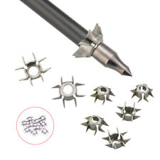 2Pcs 23Grain 8 Paw Archery Hunting Points Arrowheads Target Tips Accessory
