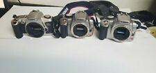 Canon EOS Rebel XTi Digital Camera Body Only plus more 3 camera bundle SEE PHOTO