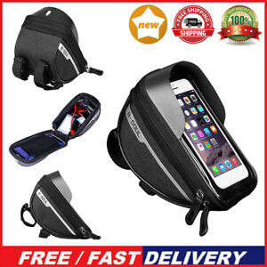 Motorbike Bike Bicycle Phone Mount Case Holder Waterproof For Hiking Drivers