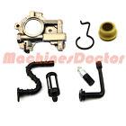 STIHL 066 MS660 065 MS650 Oil pump Worm gear spring hose line tube 1122 640 3205