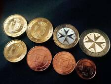 2016 Malta Euro Official set - UNCIRCULATED - Total of 8 coins! - mint condition