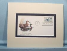 Ducks and their habitat & First Day Cover of the Wetlands Preservation stamp