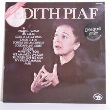 """33T Edith PIAF Vinyle LP 12"""" DISQUE OR - ENREGISTREMENTS ORIGINAUX - MFP 13104"""