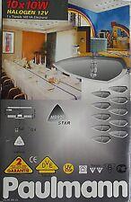 éclairage plafond ou ciel de bar PAULMANN 10 x 10 w miroirs triangle NEUF