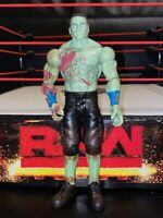 WWE JOHN CENA WRESTLING FIGURE BASIC ZOMBIE MUTANTS SERIES 1 MATTEL 2016