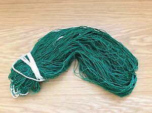 18ft Gate Nets 6z and 4z Nylon Green,Red or Brown  (ferret nets,purse nets)