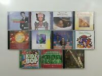 Christmas Music CD Lot of 11 Titles - SEE DESCRIPTION FOR TITLES
