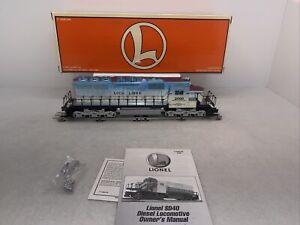 Lionel TMCC 6-52207 LCCA Lionel SD-40 Diesel Engine New O Gauge #2000 Blue Mist