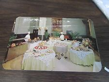 DINING ROOM OF THE AMERICUS HOTEL - ALLENTOWN PA -  POST CARD
