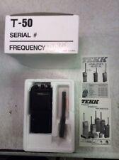 Tekk Pro-50 VHF 5W 4Ch 2WayRadio InBox w/Operator's Manual For Parts/Repair