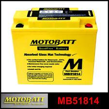 BATTERIA [MOTOBATT] MB51814 = 51814 / 51913 (12 V. / 22 A.) SIGILLATA ATTIVATA