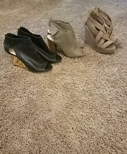 2 women chinese laundry shoes size 7.5. 1 jessica Simpson size 7.5. 3 pair set*