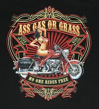 """MOTO Camiseta,"""" ASS gas o gris """",Tallas: S Hasta XXXL (Camisas von sols oder b&c"""