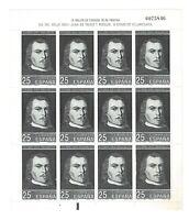 MP.31 Minipliego Día del Sello año 1991 sellos España Spain stamps