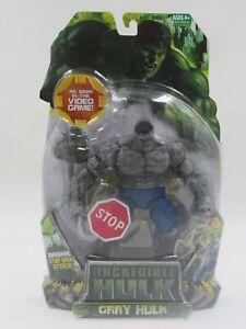 The Incredible Hulk Gray Hulk Action Figure Stop Sign Hasbro 2008