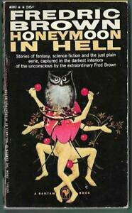 Honeymoon in Hell by Fredric Brown 1958 Bantam A1812