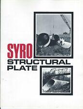 Equipment Brochure Syro Steel Structural Plate Arch Culvert Et Al E5919