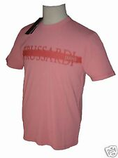 T-Shirt hommes TRUSSARDI Jeans fashion Made in Italy rose denim pink Taille XL