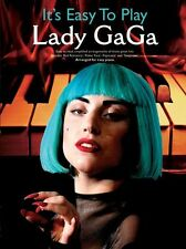 Its Easy To Play Lady Gaga Learn to Play PAPARAZZI Piano Music Book