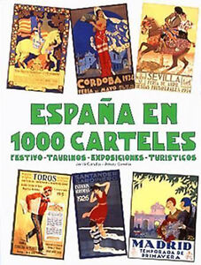 Vintage Poster Coffee Table Book Spanish Espana Spain Barcelona BIG Carulla Art
