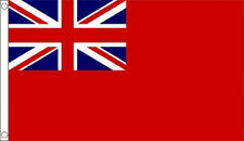 RED ENSIGN FLAG 5' x 3' Merchant Navy Red Duster Naval Flags