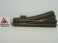 Märklin H0 24611 74490 74460 74445 Weiche links komplett aufgerüstet TOP C687