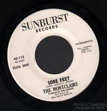 Hear 1965 Montclairs Mod Soul / Popcorn Instrumental M- DJ 45 (Sore Feet)
