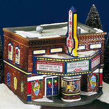 New ListingDept 56 Cinema 56 Movie Theater Snow Village