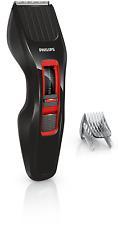 Philips Lang-Haarschneider (Dual Cut), Akku/Netz HC3420/15 Schwarz-Rot, 1-23 mm