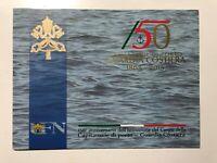 2015 Folder Vatican Vatikan Vaticano 150° Capitanerie di Porto Guardia Costiera