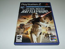 STAR WARS:BATTLEFRONT for PS2  (PAL)  VERY GOOD CONDITION COMPLETE