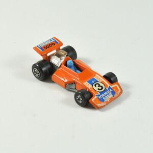 Matchbox Super Rapide No.38 - Formule 5000 - 1975 - Lesney - Voiture de Course
