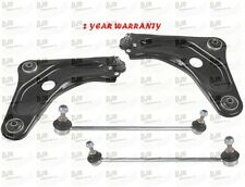 PEUGEOT 207 CONTROL ARM and DROP LINK STABILISER Front Left & Right KIT 06-On
