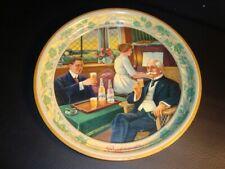 Circa 1900 Burkhardt Beer Tray, Akron, Ohio